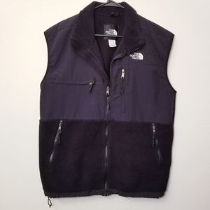 North Face Large Black Fleece Vest Top